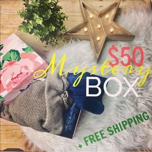 Tops - MYSTERY BOX OF 5 ITEMS + FREE SHIPPING size S